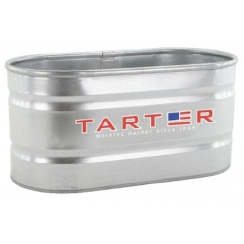 TARTER ® 300-Gallon Galvanized Oval Stock Tank Here we go. Twin soaking tubs. No pool needed.