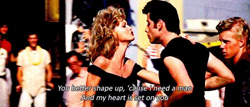 """And compromise is him taking off his leather jacket.   22 Distressing Life Lessons From """"Grease"""""""