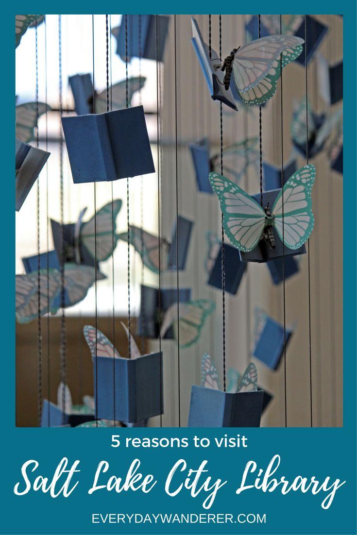 5 reasons to visit the Salt Lake City Library in Utah #saltlakecity #slc #utah #travel