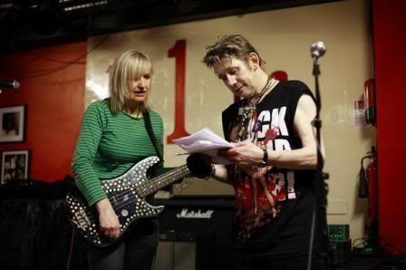The Nipple Erectors: Shanne Bradley and Shane Macgowan at 100 Club