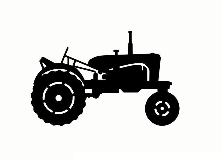 Farm Tractor Wheel Clip Art : Best images about silhouettes on pinterest damasks