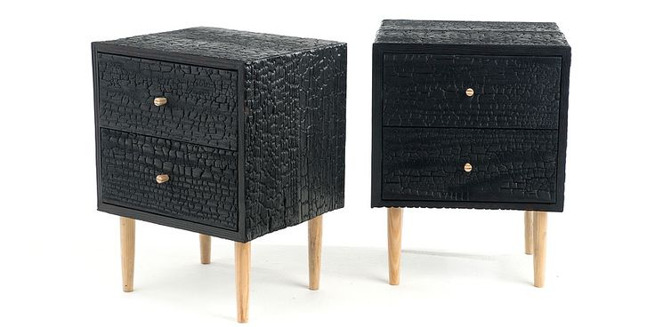 Charred Commode | Michael James Moran Woodworked Furniture - Recherche Google