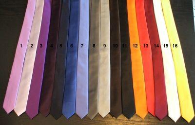 Cravatte Slim Strette