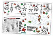 für #Kinder gibt es nun ein hübsche #Rätsel-Blatt, dass den Kleinen das Warten auf den #Weihnachtsmann verkürzen soll