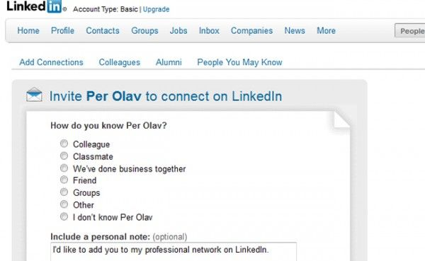 LinkedIn tips nr 6  For å oppnå resultater i nettverksbygging må du ha flere kontakter på LinkedIn,