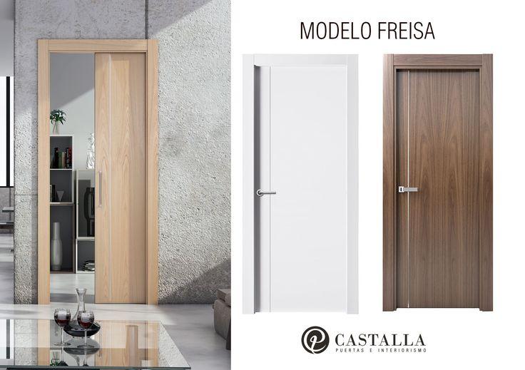 Modelo Freisa | Serie Costa Marfil | Puertas de madera | Puertas de interior | Puertas Castalla