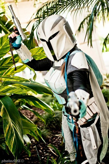 Female Mandalorian My custom Mando - Nyc'tea Alba Member of the Mandalorian Mercs, Buurenaar Verda Clan