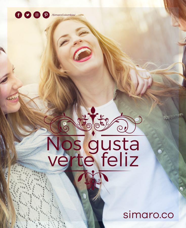 Tu felicidad es nuestra Misión 😊 👉🏻 http://simaro.co/ @SimaroColombia #SimaroColombia #Happiness #Felicidad #Smile #EnvioGratis #SimaroCo 🇨🇴#LoEncontramosPorTi #SimaroBr 🇧🇷 #SimaroMx 🇲🇽 #TiendaOnline #ECommerce #Diversion #Novedades #Compras #Regalos #Descuentos