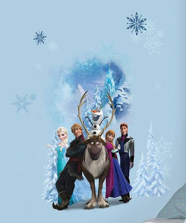 Another great find on #zulily! zulily-Exclusive Frozen Wall Decal by Frozen #zulilyfinds