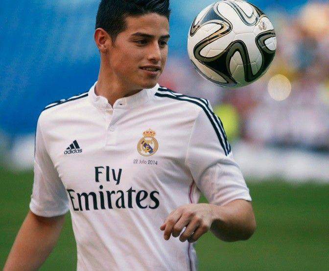 Transfer News: Real Madrid Unveil Galactico James Rodriguez [PHOTOS]