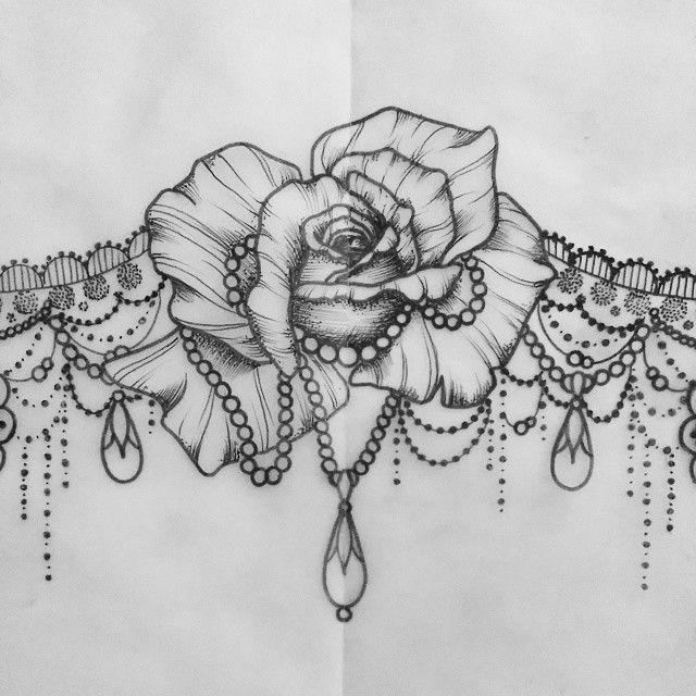 Rose Underboob Tattoo | www.pixshark.com - Images