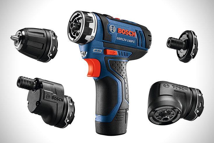 Bosch Max FlexiClick 5-In-1 Drill   HiConsumption
