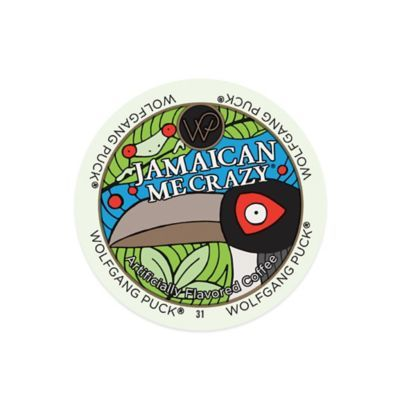 18-Count Wolfgang Puck® Jamaican Me Crazy® Coffee for Single Serve Coffee Makers - BedBathandBeyond.com