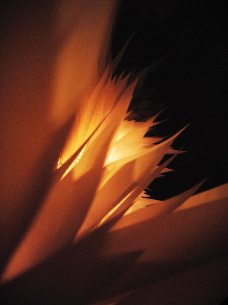 Photo of paper-light object
