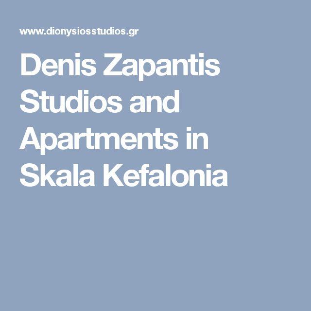 Denis Zapantis Studios and Apartments in Skala Kefalonia