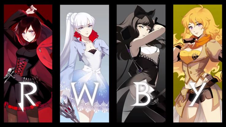 RWBY - new anime series by Roosterteeth ive just started watching, pretty good so far :)