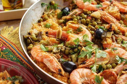 JA U KUHINJI...: Španska paella (video recept)