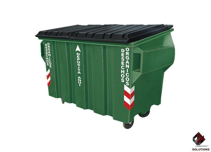 E4-4084 CONTENEDOR DE BASURA VIC-1900 DE GRAN CAPACIDAD  Contenedor diseñado para la recolección de desperdicios orgánicos e inorgánicos de gran capacidad. Contenedor fabricado en polietileno de media densidad, lo cual le da la propiedad de absorber impactos por deformación y ser altamente resistentes a las condiciones del clima. Capacidad para 1900 Lts. Dimensiones: 202 cm. x 117 cm. x 138 cm. Colores: Rojo, Verde, Azul y Gris.