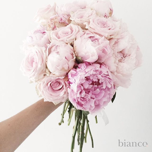 In love with pink flowers www.biancoloves.it