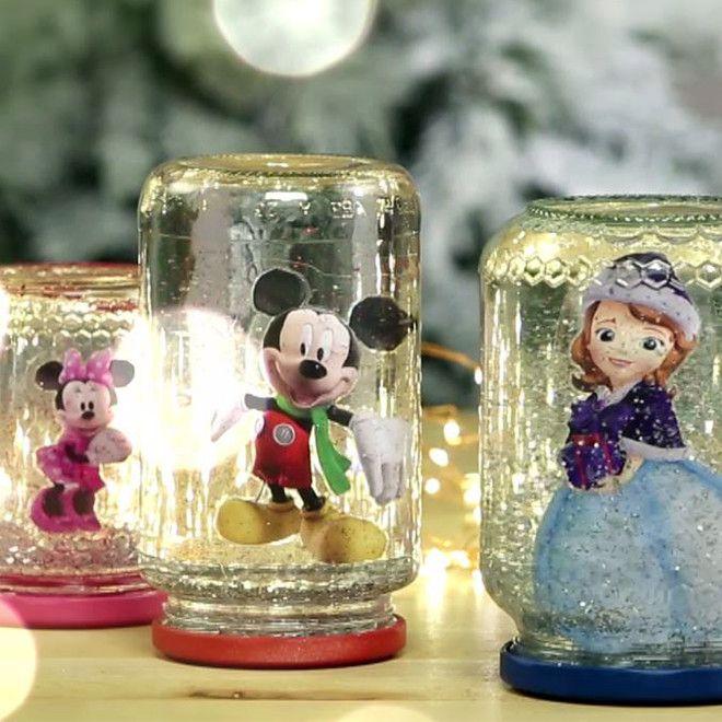 Guarda – Palla di vetro con la neve Disney Junior
