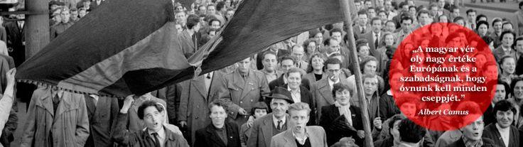 A magyar vér oly nagy értéke Európának és a szabadságnak, hogy óvnunk kell minden cseppjét. Albert Camus
