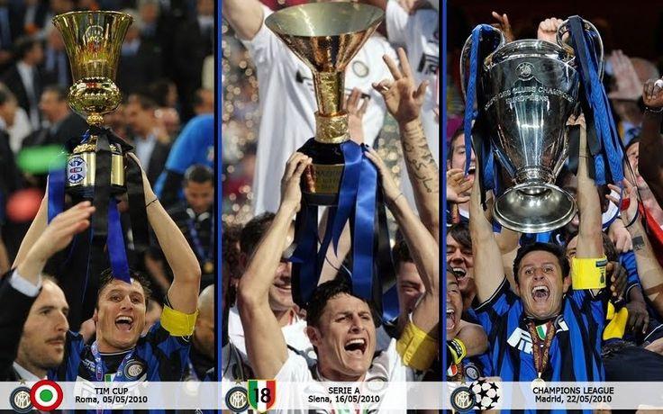 Inter: la stagione del triplete...questo è triplete