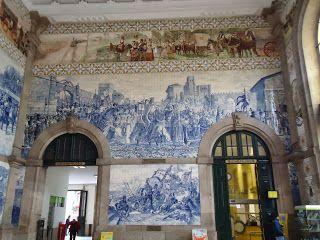 СОВЕТЫ С КРАЯ СВЕТА: Порту(Porto) Вокзал Сан Бенту внутри.