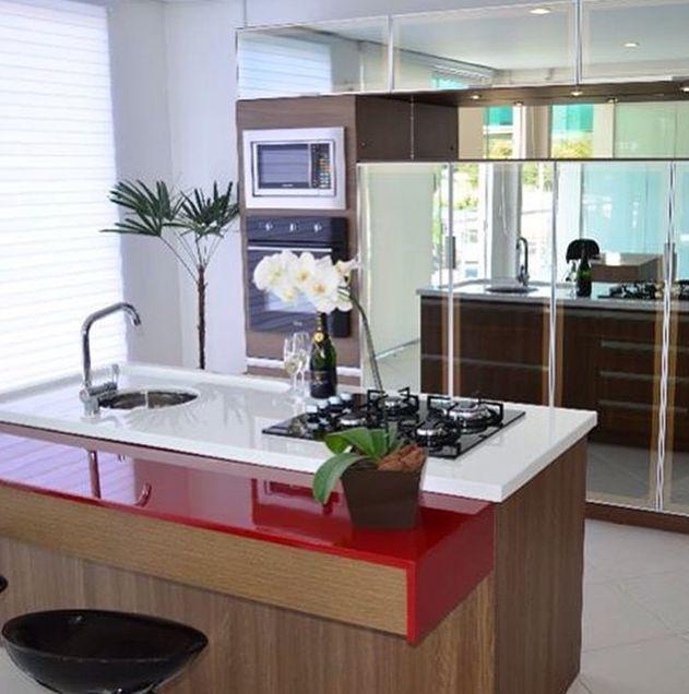 cozinha veja as melhores opções 1 cozinha branca com amadeirado e