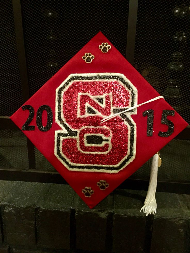 NCSU Graduation Cap decoration