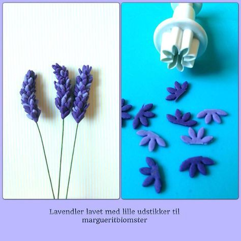 How to make fondant lavenders. Hmm. Do I like this technique more than mine? Will have to try.