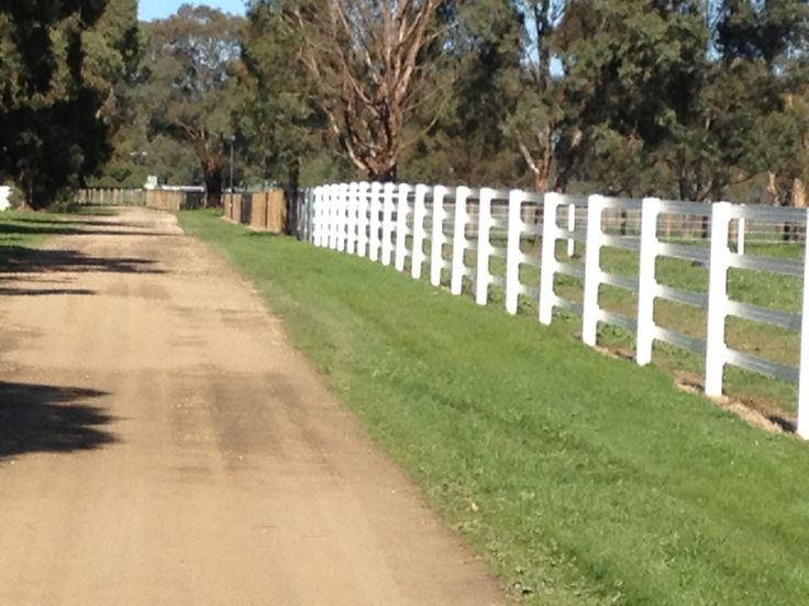 Horserail fencing looking good now