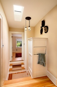 concealed laundry chute