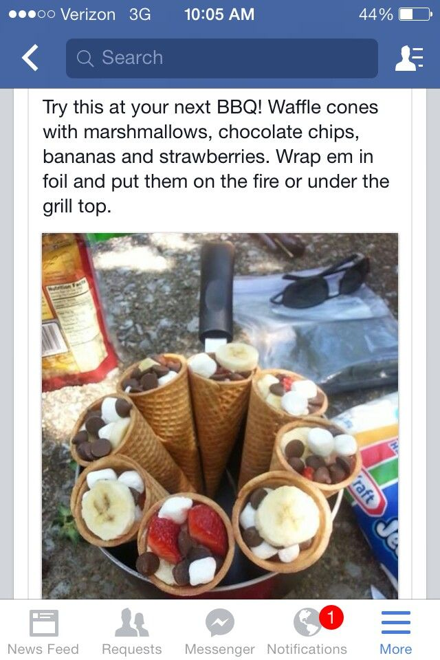 Smore ideas for the fire pit