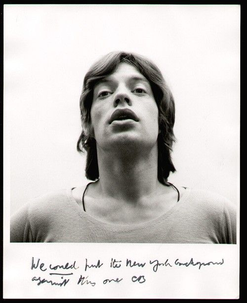Mick Jagger portrait | by Cecil Beaton for Vogue in 1970
