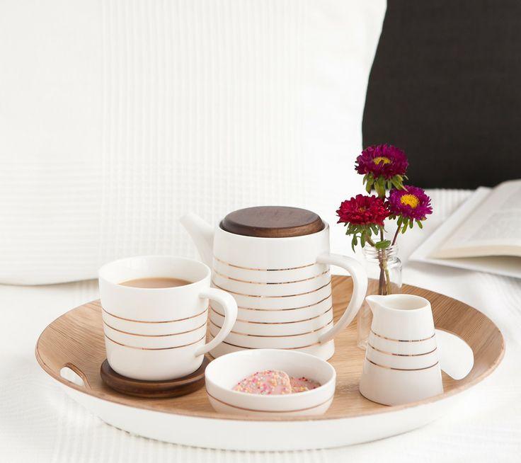Serve tea in style with stylish kikki.K Homewares. www.kikki-k.com