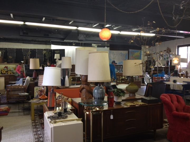 Find Great Vintage Furniture And Decor. The Store Is Full, But Easy To  Browse