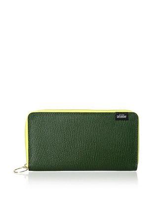 29% OFF Kate Spade Saturday Women's Leather Zip-Around Wallet, Moss