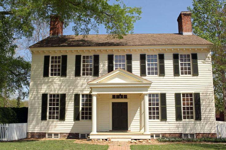 Colonial architecture georgian colonial architectural for Colonial home styles guide
