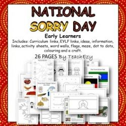 Sorry Day Pack for Early Learners