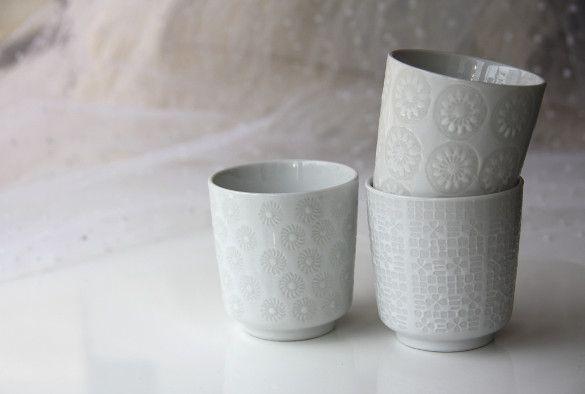 Pols Potten(ポルスポッテン)/オランダ/白のマグカップ - 北欧雑貨やアクセサリー、おしゃれなヨーロッパ雑貨の通販 HOKUO&World