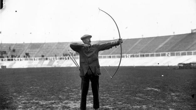 Arquero olímpico en los Juegos Olimpicos de 1908