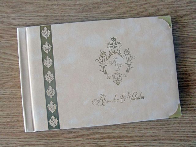 Carte de oaspeti pentru nunta, gravata