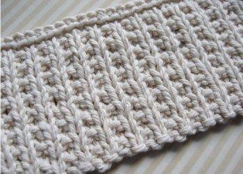 Point de tricot: Le Mock Rib