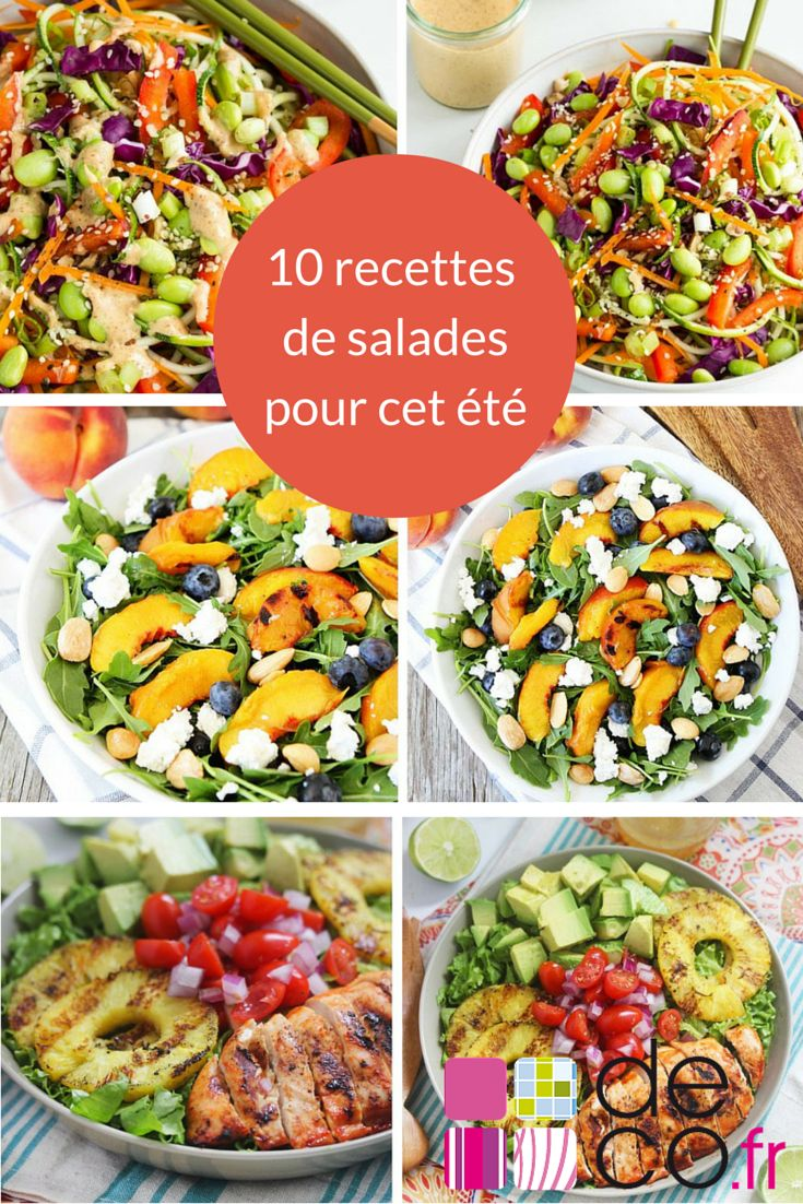 Découvrez 10 recettes de salades à adopter d'urgence !
