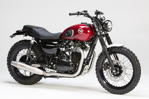 Kawasaki W800 by LSL - This one is such a clean custom that it looks factory.  This is a bike I could own...