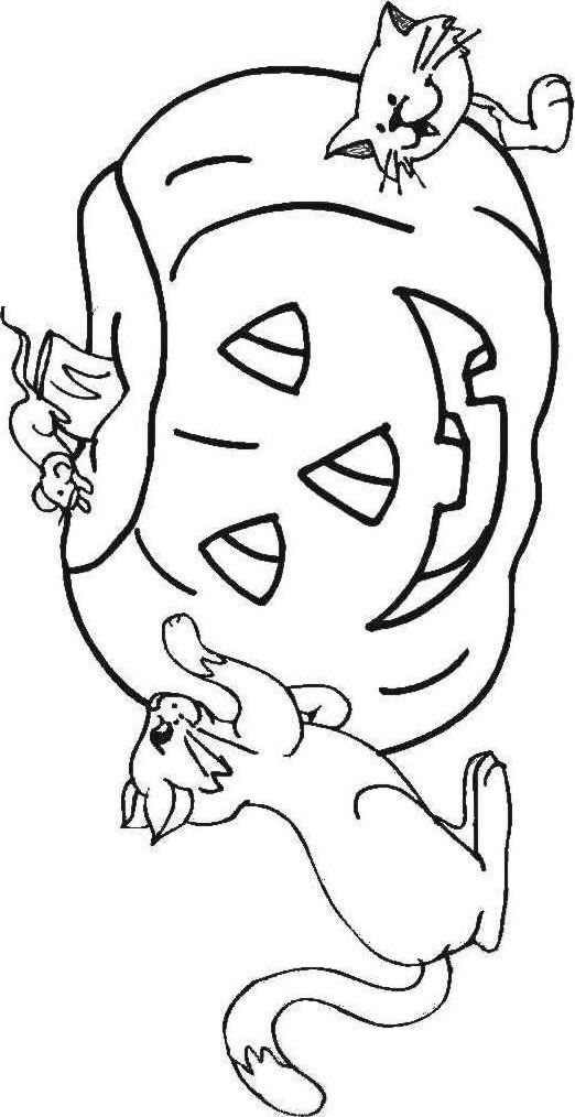 1055 best images about coloring pages on pinterest for Fall and halloween coloring pages