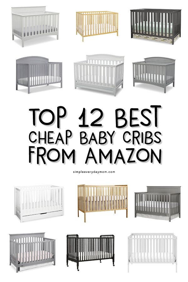 12 Baby Cribs That Are Actually Stylish