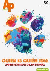 APdigitales #28 con el anuario Quién es Quién 2016, las empresas más destacadas en el mercado de la impresión digital en España http://www.apdigitales.com/revista-online