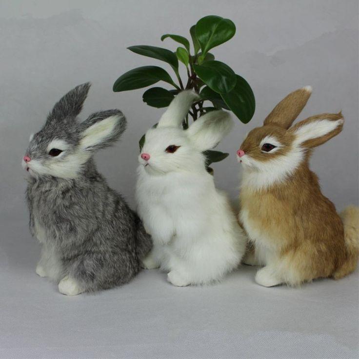 Новые-3-Видов-Милые-Животные-Пасхальный-Кролик-Моделирование-Пушистый-Корточках-Кролик-Рождество-Подарок-На-День-Рождения.jpg (800×800)