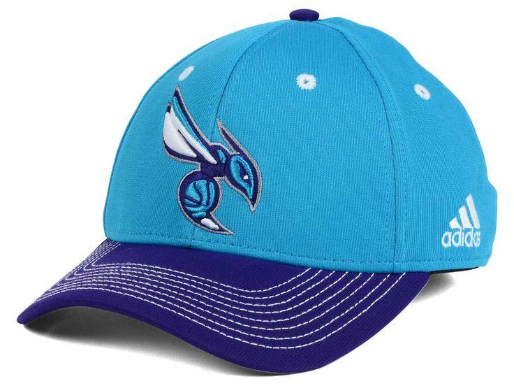 Charlotte Hornets adidas NBA Duel Logo Flex Cap